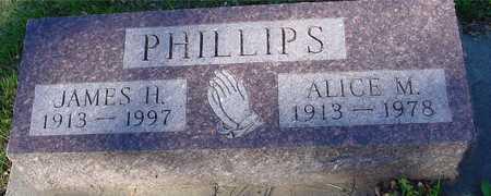 PHILLIPS, JAMES H. & ALICE - Ida County, Iowa | JAMES H. & ALICE PHILLIPS