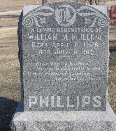 PHILLIPS, WILLIAM M. - Ida County, Iowa | WILLIAM M. PHILLIPS