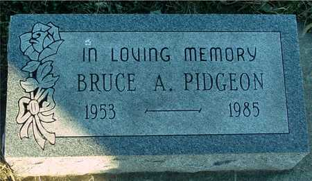 PIDGEON, BRUCE A. - Ida County, Iowa | BRUCE A. PIDGEON