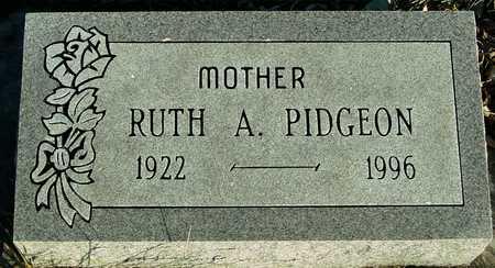 PIDGEON, RUTH A. - Ida County, Iowa   RUTH A. PIDGEON