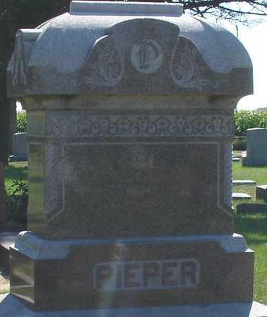 PIEPER, FAMILY MARKER - Ida County, Iowa | FAMILY MARKER PIEPER