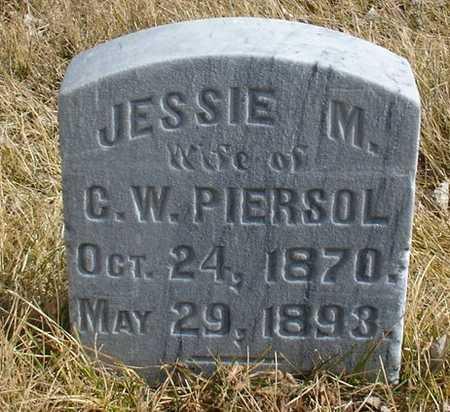 PIERSOL, JESSIE M. - Ida County, Iowa | JESSIE M. PIERSOL