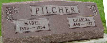 PILCHER, CHARLES & MABEL - Ida County, Iowa   CHARLES & MABEL PILCHER