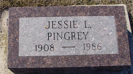 PINGREY, JESSIE L. - Ida County, Iowa | JESSIE L. PINGREY