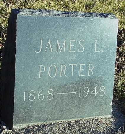 PORTER, JAMES L. - Ida County, Iowa | JAMES L. PORTER