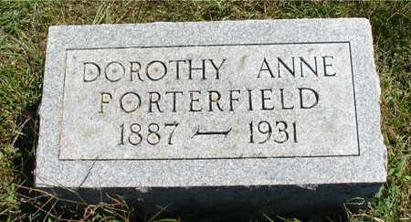 PORTERFIELD, DOROTHY ANNE - Ida County, Iowa | DOROTHY ANNE PORTERFIELD