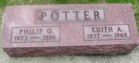 POTTER, PHILIP & EDITH - Ida County, Iowa | PHILIP & EDITH POTTER