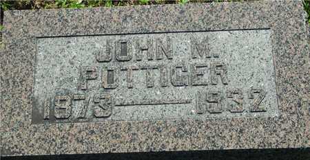 POTTIGER, JOHN M. - Ida County, Iowa   JOHN M. POTTIGER