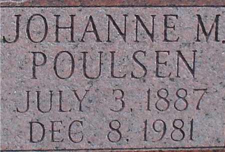 POULSEN, JOHANNE M. - Ida County, Iowa   JOHANNE M. POULSEN