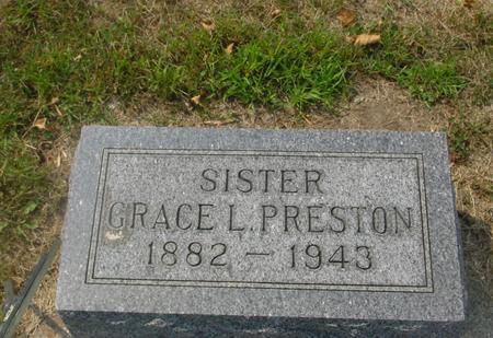 PRESTON, GRACE L. - Ida County, Iowa | GRACE L. PRESTON