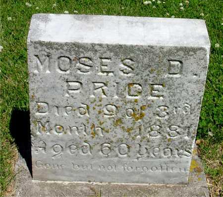 PRICE, MOSES D. - Ida County, Iowa | MOSES D. PRICE