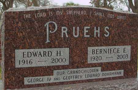 PRUEHS, EDWARD & BERNIECE - Ida County, Iowa | EDWARD & BERNIECE PRUEHS