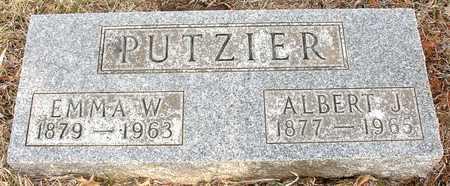 PUTZIER, ALBERT J. & EMMA - Ida County, Iowa | ALBERT J. & EMMA PUTZIER