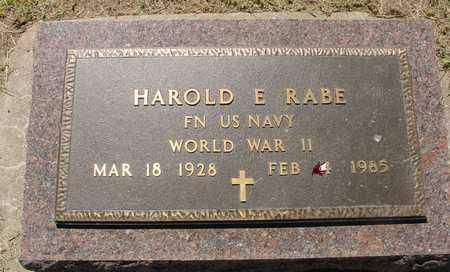 RABE, HAROLD E. - Ida County, Iowa | HAROLD E. RABE