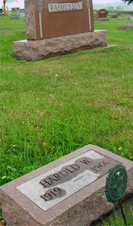 RASMUSSEN, HAROLD W. - Ida County, Iowa | HAROLD W. RASMUSSEN