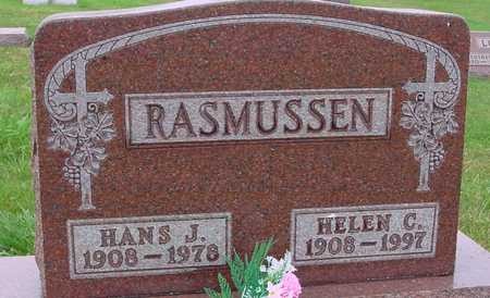 RASMUSSEN, HANS J. & HELEN C. - Ida County, Iowa | HANS J. & HELEN C. RASMUSSEN