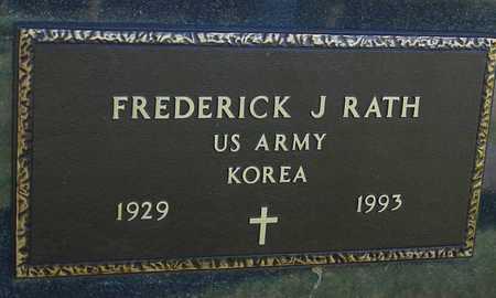 RATH, FREDERICK J. - Ida County, Iowa | FREDERICK J. RATH