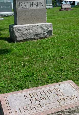 RATHBUN, JANE M. - Ida County, Iowa | JANE M. RATHBUN