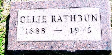 RATHBUN, OLLIE - Ida County, Iowa | OLLIE RATHBUN