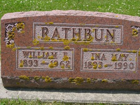 RATHBUN, WILLIAM  E. - Ida County, Iowa | WILLIAM  E. RATHBUN