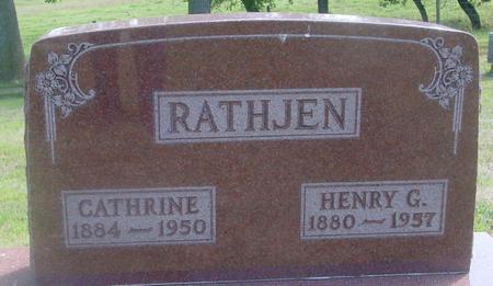 RATHJEN, HENRY & CATHRINE - Ida County, Iowa | HENRY & CATHRINE RATHJEN