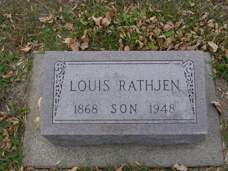 RATHJEN, LOUIS - Ida County, Iowa | LOUIS RATHJEN