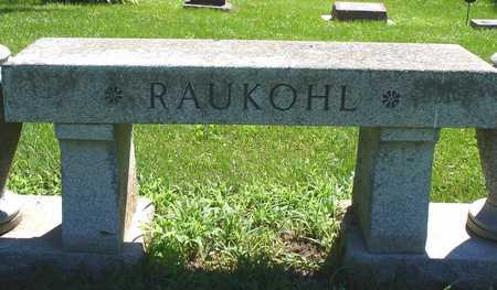 RAUKOHL, FAMILY MARKER - Ida County, Iowa | FAMILY MARKER RAUKOHL