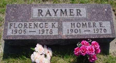 RAYMER, HOMER & FLORENCE - Ida County, Iowa | HOMER & FLORENCE RAYMER