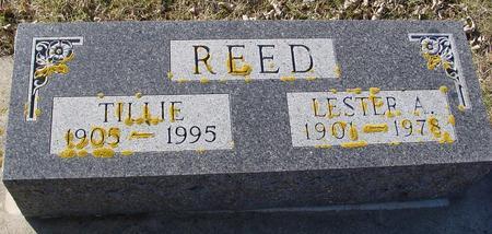 REED, LESTER & TILLIE - Ida County, Iowa | LESTER & TILLIE REED