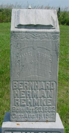 REHMKE, BERNARD - Ida County, Iowa | BERNARD REHMKE