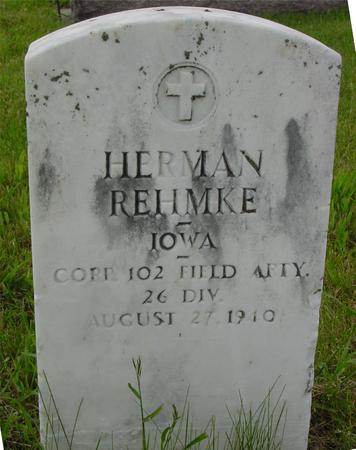 REHMKE, HERMAN - Ida County, Iowa | HERMAN REHMKE