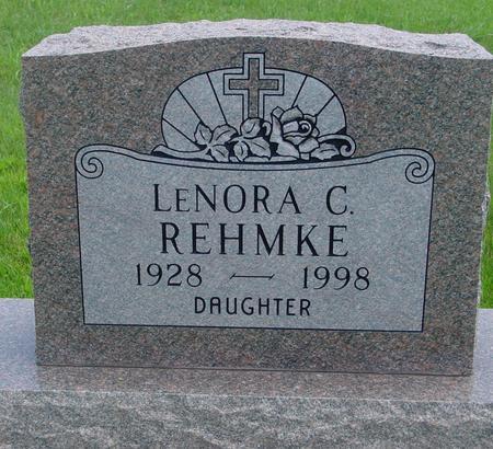 REHMKE, LENORA  C. - Ida County, Iowa | LENORA  C. REHMKE