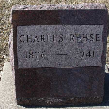 REHSE, CHARLES - Ida County, Iowa | CHARLES REHSE