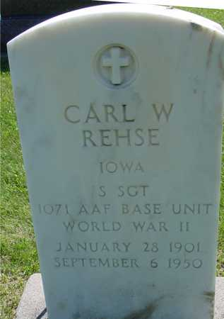 REHSE, CARL W. - Ida County, Iowa | CARL W. REHSE