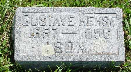 REHSE, GUSTAVE - Ida County, Iowa | GUSTAVE REHSE