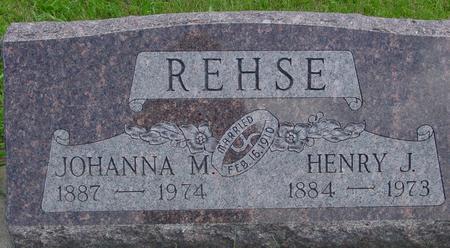 REHSE, HENRY J. - Ida County, Iowa   HENRY J. REHSE