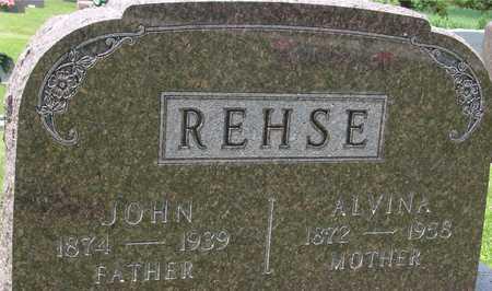 REHSE, JOHN & ALVINA - Ida County, Iowa | JOHN & ALVINA REHSE
