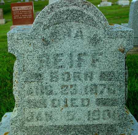 REIFF, ANNA M. - Ida County, Iowa | ANNA M. REIFF
