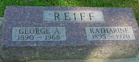 REIFF, GEORGE & KATHARINE - Ida County, Iowa | GEORGE & KATHARINE REIFF