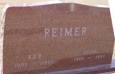 REIMER, ED P. & HILDA - Ida County, Iowa | ED P. & HILDA REIMER