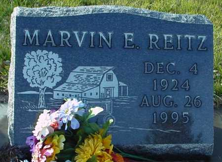REITZ, MARVIN E. - Ida County, Iowa | MARVIN E. REITZ