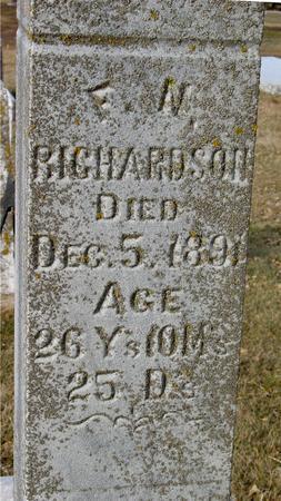 RICHARDSON, FRED N. - Ida County, Iowa | FRED N. RICHARDSON