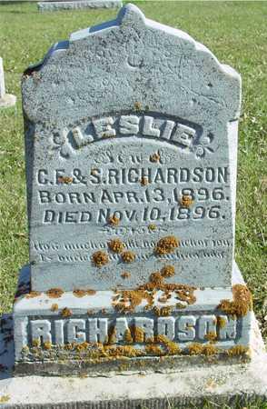 RICHARDSON, LESLIE - Ida County, Iowa | LESLIE RICHARDSON