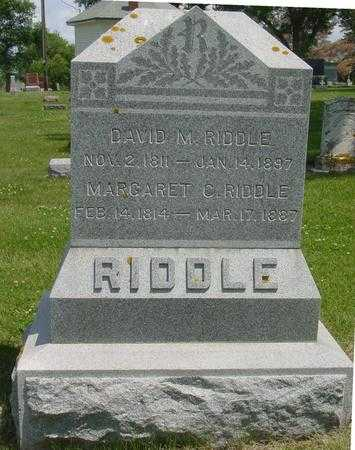 RIDDLE, MARGARET C. - Ida County, Iowa | MARGARET C. RIDDLE