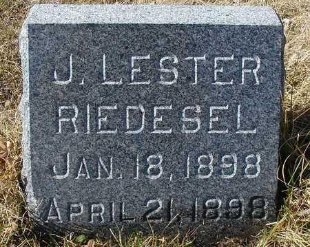 RIEDESEL, J. LESTER - Ida County, Iowa | J. LESTER RIEDESEL