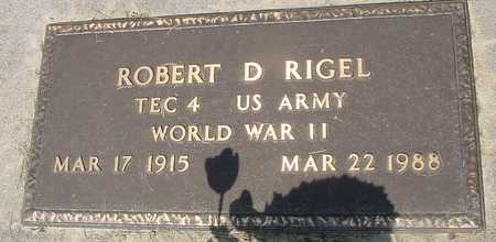 RIGEL, ROBERT D. - Ida County, Iowa | ROBERT D. RIGEL