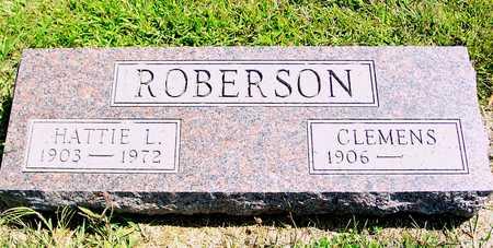 ROBERSON, HATTIE L. - Ida County, Iowa | HATTIE L. ROBERSON