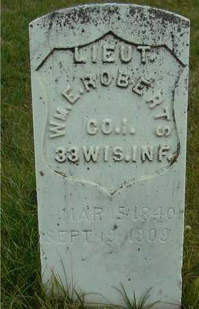 ROBERTS, WILLIAM E. - Ida County, Iowa   WILLIAM E. ROBERTS