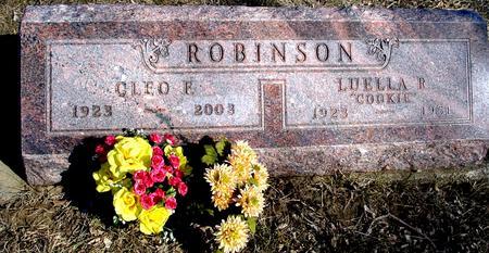 ROBINSON, CLEO F. & LUELLA - Ida County, Iowa | CLEO F. & LUELLA ROBINSON