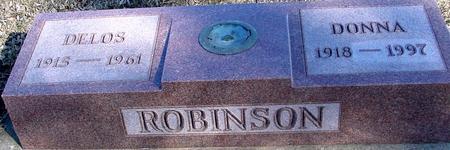 ROBINSON, DELOS & DONNA - Ida County, Iowa | DELOS & DONNA ROBINSON
